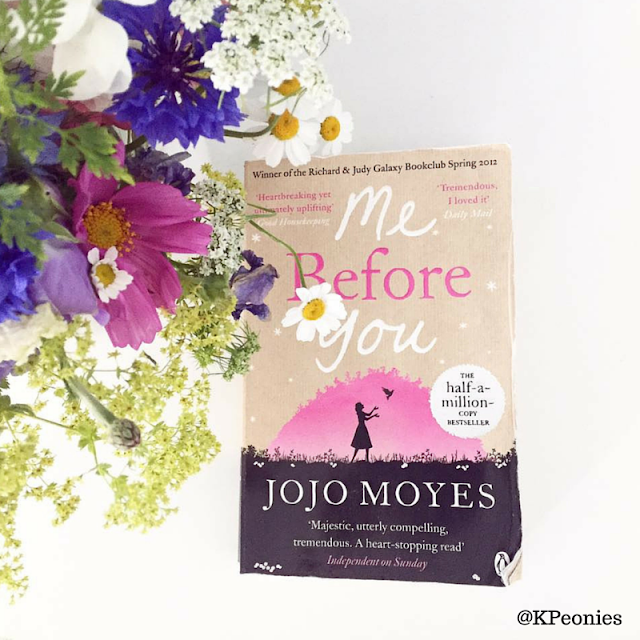 Me Before You JoJo Moyes Kaleidoscope Peonies