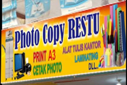 Lowongan Photocopy Restu Rumbai Pekanbaru November 2018