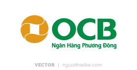 Logo ngân hàng OCB vector