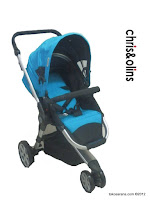 Chris and Olins G508 Maxi Cross LightWeight Baby Stroller