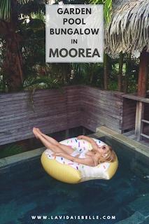 Private Garden Pool Bungalow in Moorea