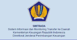 SIMTRADA Sistem Informasi dan Monitoring Transfer Daerah