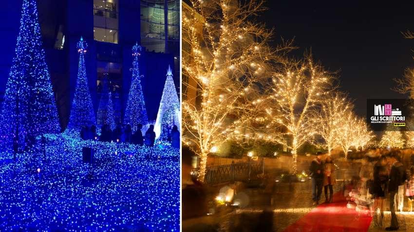 Il Natale in Giappone, i festival delle luci