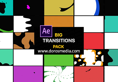 انتقالات افتر افكت قوالب افتر افكت حزمة من انتقالات السائل الرائعة لبرنامج الافتر افكت Adobe after effects Liquid Transitions