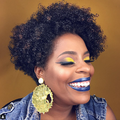 Maquiagem para a copa 2018 (pele negra): Patrícia Avelino