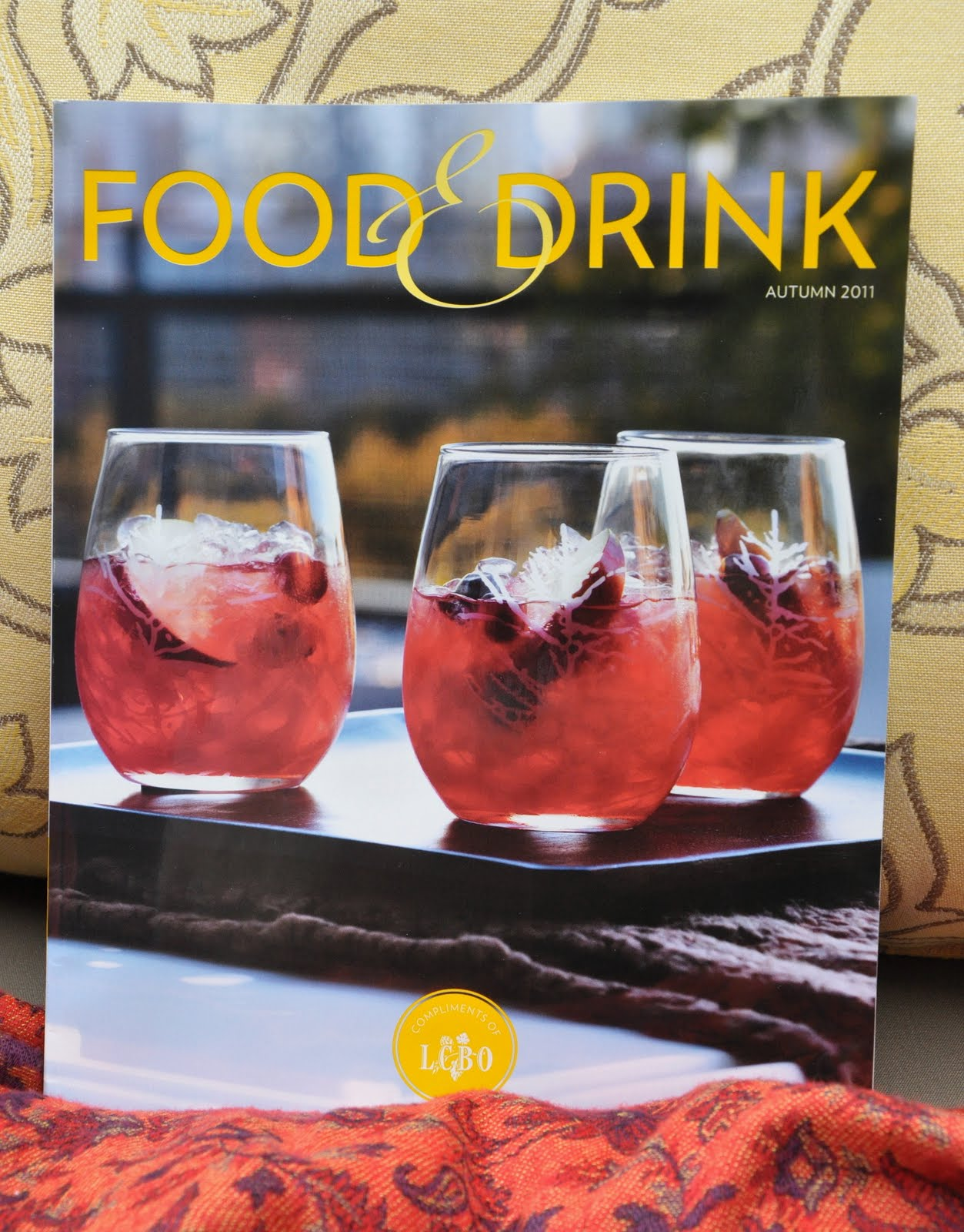 drink lcbo food magazine autumn issue music holiday