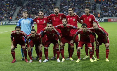 Spain Football Team 2015 Photo
