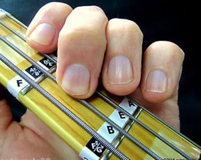 belajar kunci gitar bass