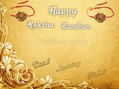 Raksha Bandhan 2019 Good Morning Greetings for Sister