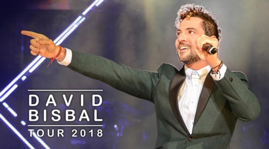David Bisbal, Tour 2018, conciertos 2018