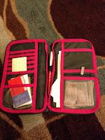 Gifts for the traveler - receipt holder