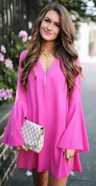 Pink tunic Dress