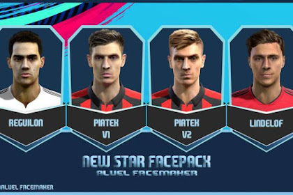 New Star Facepack #19-05-2019 - PES 2013