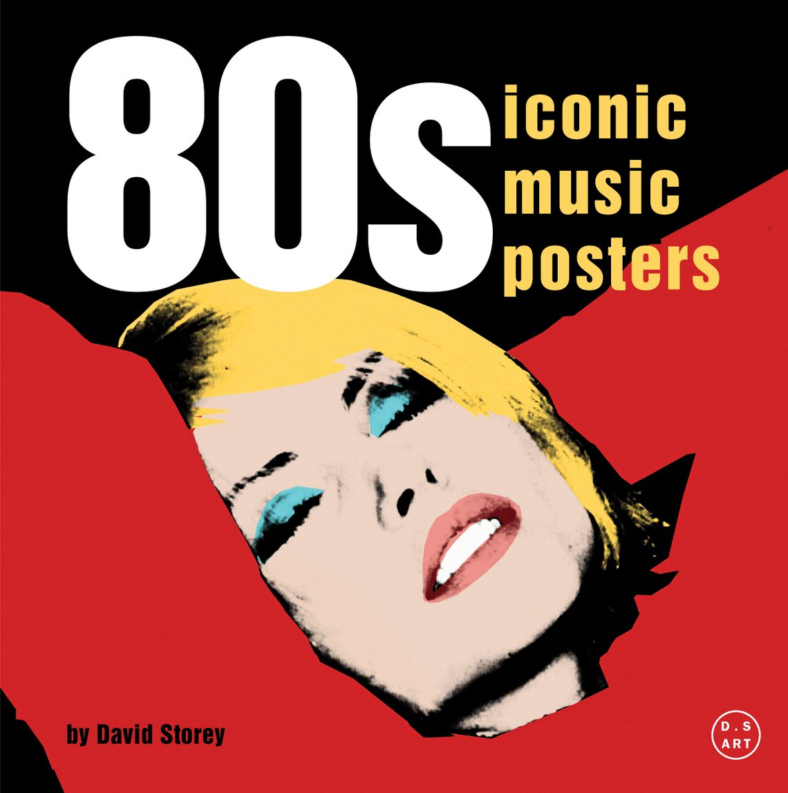 This book cover features Blondie's Debbie Harry leaning back with her hands  behind her head and
