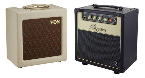 Amplificadores de Guitarra Eléctrica para Tocar en Casa Vox AC4TV Vs Bugera V5