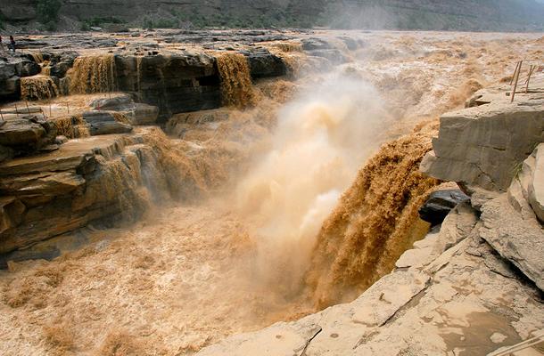 แม่น้ำที่ยาวที่สุดในโลก, แม่น้ำเหลือง (แม่น้ำหวง, แม่น้ำฮวงโห Yellow River), เป็นแม่น้ำที่ยาวเป็นอันดับสองของประเทศจีน รองจากแม่น้ำแยงซี มีความยาว 5,464 กิโลเมตร และมีความยาวเป็นอันดับที่หกของโลก