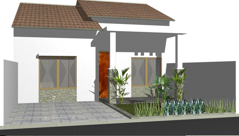 Desain Rumah Minimalis Dengan 3ds Max  rumah desain kataideku tutorial autocad 3d menggambar