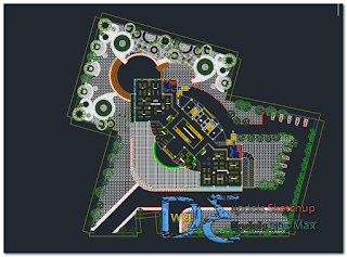 Complex center of culture in AutoCAD