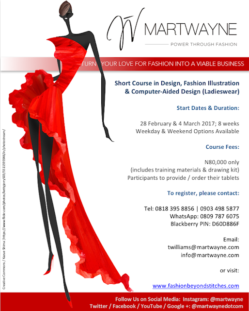Learn Fashion Design, Fashion Illustration & Computer-Aided Design this February @ Martwayne and take your love for fashion to the next level!