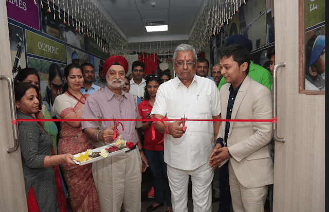 INAUGURATION OF SHOOTING RANGE AT SRS INTERNATIONAL SCHOOL, FARIDABAD