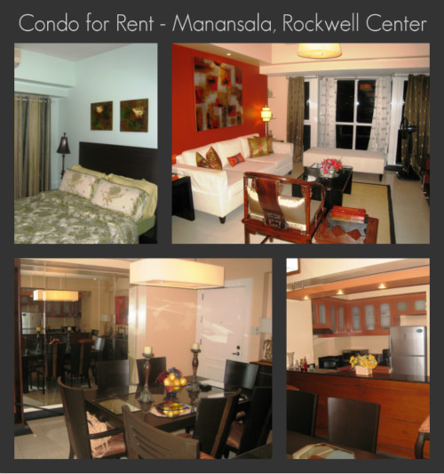 2 BR Condo For Rent, Makati The Manansala Tower At
