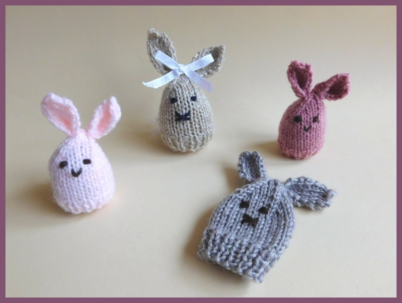 Marianna\'s Lazy Daisy Days: Easter Bunny Egg Cosy