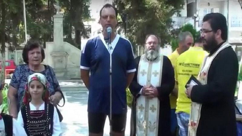 Έτρεξε 573 χιλ. από την Τουρκία στην Ελλάδα για να τιμήσει τους προγόνους του