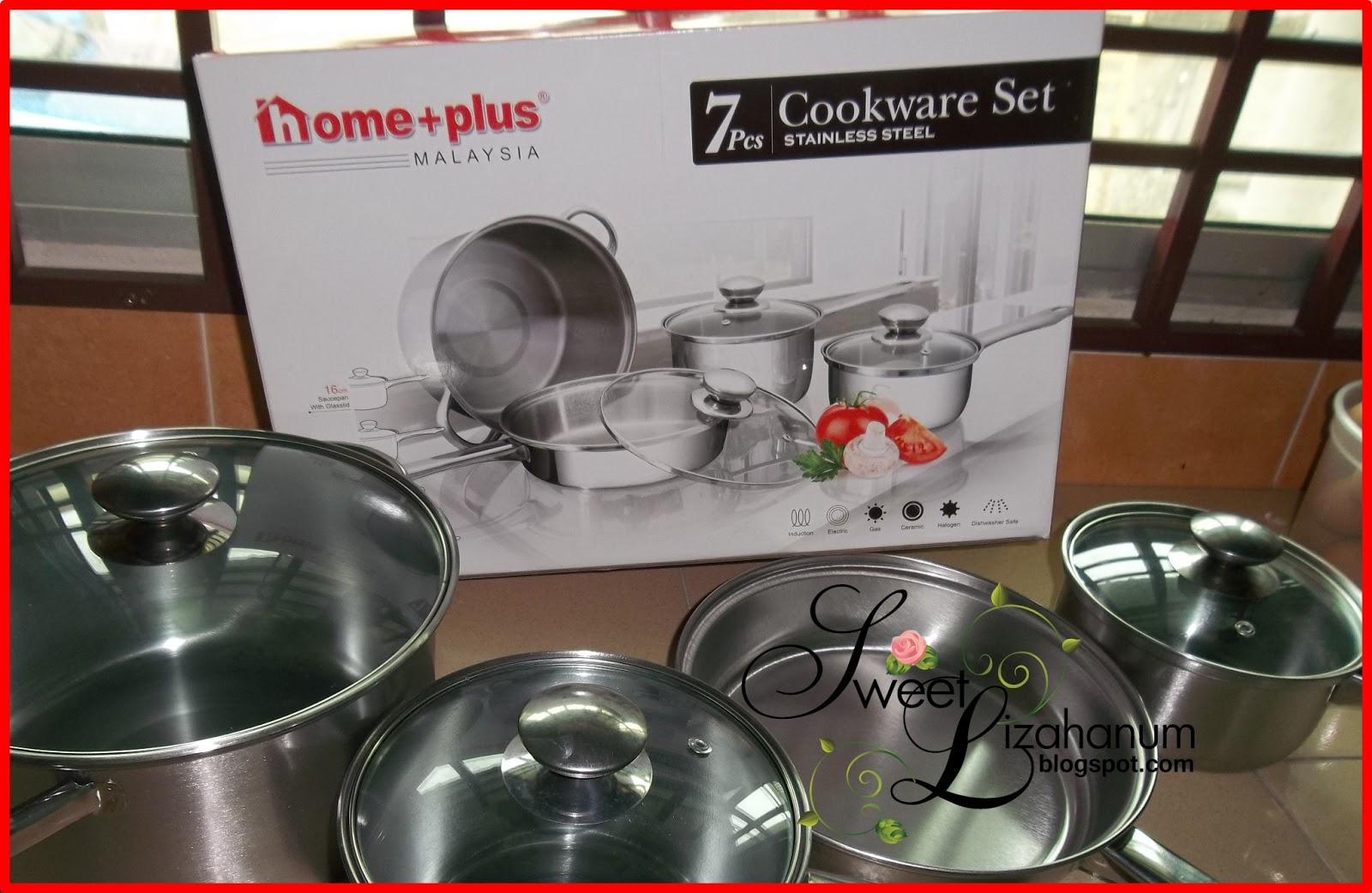 Terpaksa Beli Cookware Baru Yang Memang Khas Untuk Induction Cooker Periuk Belanga Dapur Gas Punya Akan Di Sedekahkan Pada Sape2 Nanti