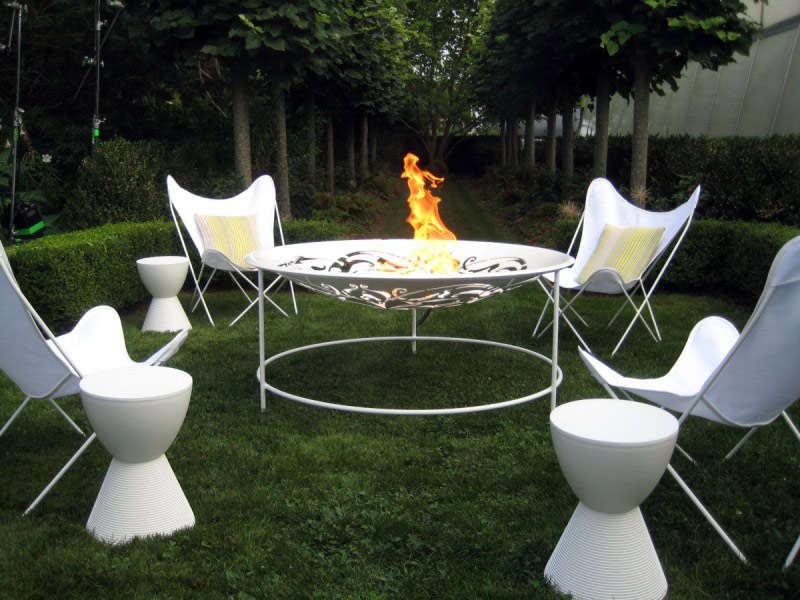 Model Kursi Teras untuk Taman Mewah