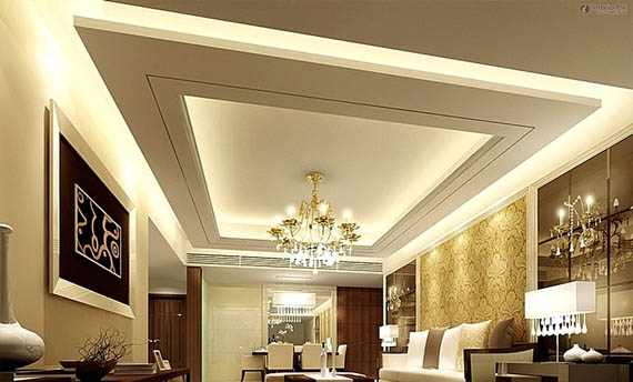 design Plafon Gypsum Ruang Tamu