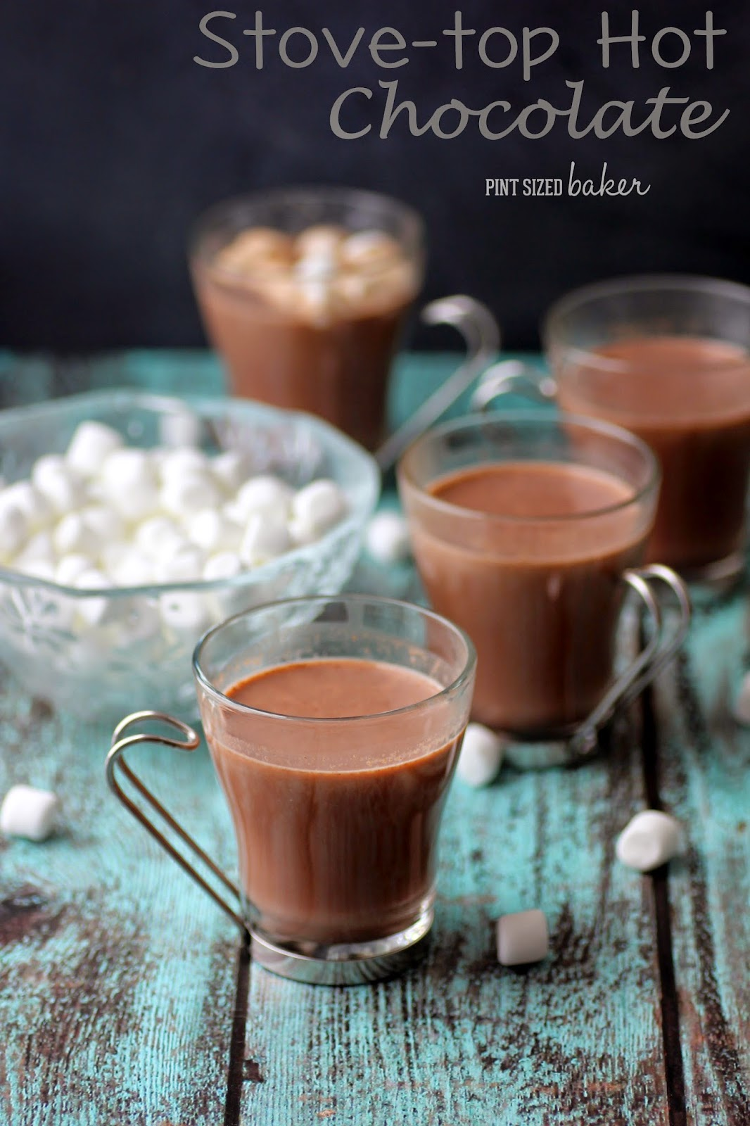 Come in from the cold and make a big batch of this Stove top Hot Chocolate! It's simply the best!