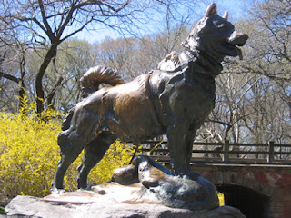 estatua balto nova york central park