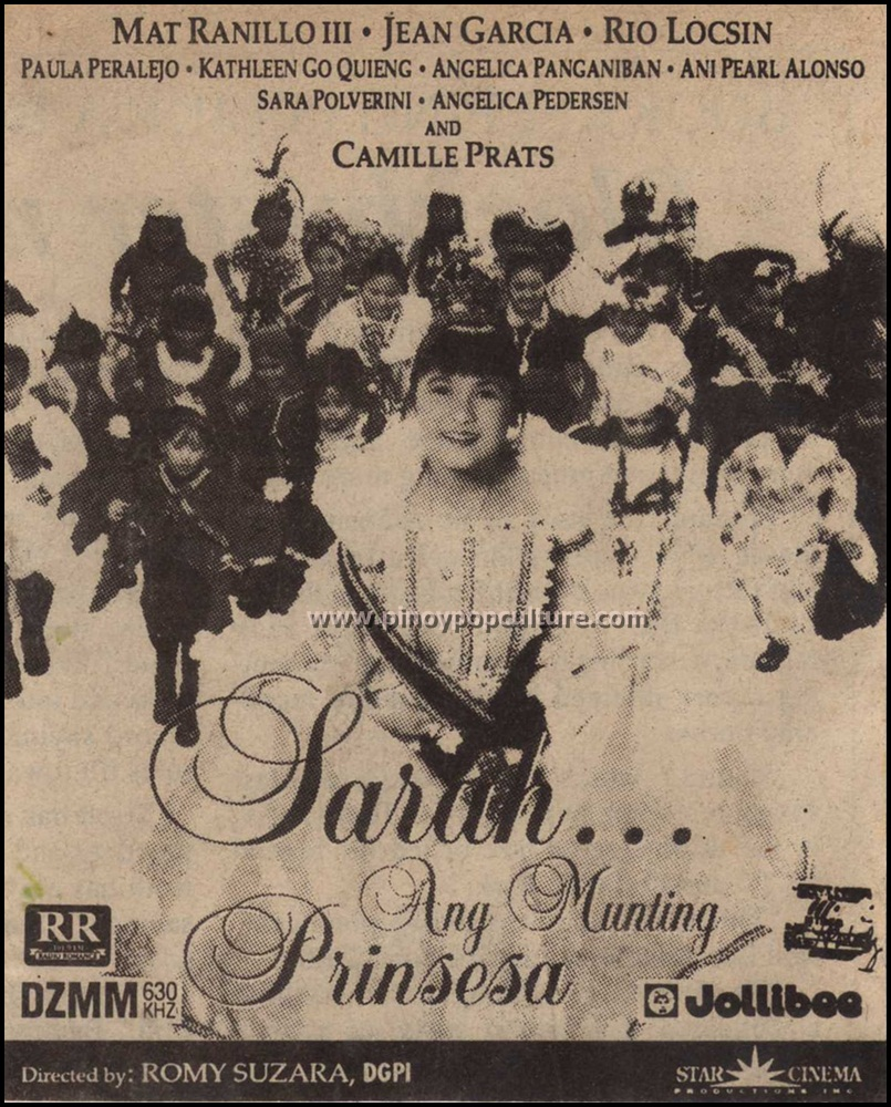 Tagalog movie princess version sarah Sarah Ang