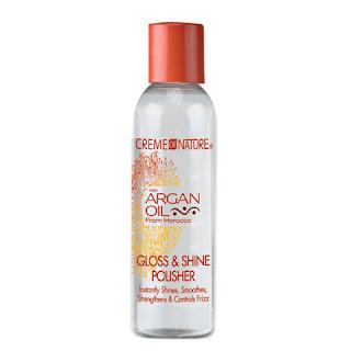 Argan Oil Gloss & Shine Polisher Creme of Nature Serum