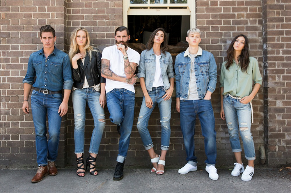 MEN FASHION LEVIS 501 CT JEANS | summer trend inspiration levi denim campaign ss 15
