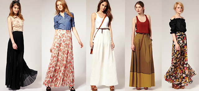 matahari mall maxi skirt rok panjang