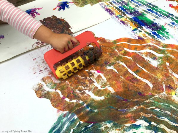 Outdoor Gross Motor Art