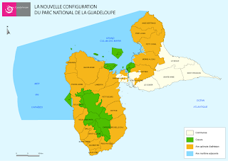 CARTE PARC NATIONAL GUADELOUPE
