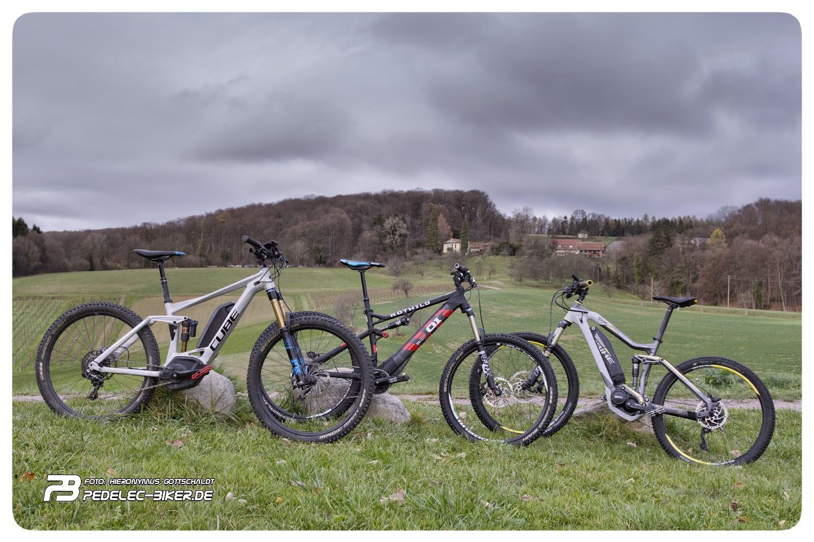 Pedelec-Biker de: Bosch - Brose - Yamaha im direkten