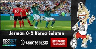 jerman 0-2 korea selatan piala dunia 27 juni 2018