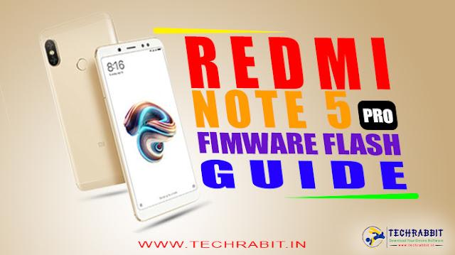 redmi note 5 pro stock firmware