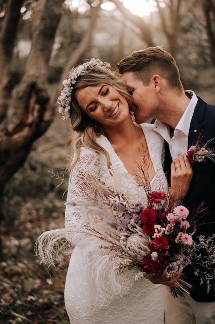 bird and boy photography beach wedding grace loves lace florals