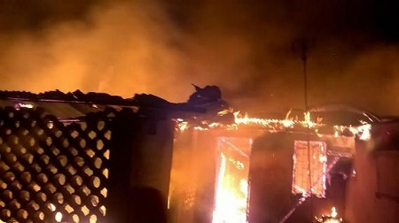 Tragedy! 5 Family Members Perished in Early Morning Fire Incident