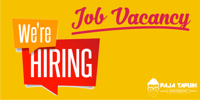Kumpulan Soal Job Vacancy Text SMA dan Pembahasan