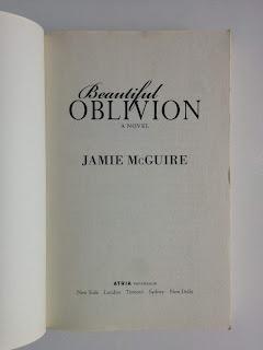 Beautiful Oblivion A Novel