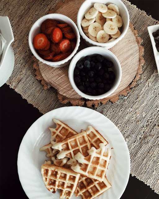 Clean Eating Healthy Waffle