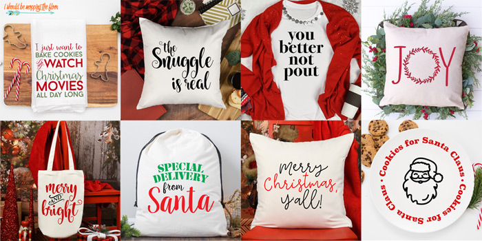 Free Christmas SVGs