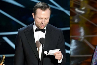 Pidato Pemenang Oscar 2017 Kutip Surat Al-Maidah Ayat 32