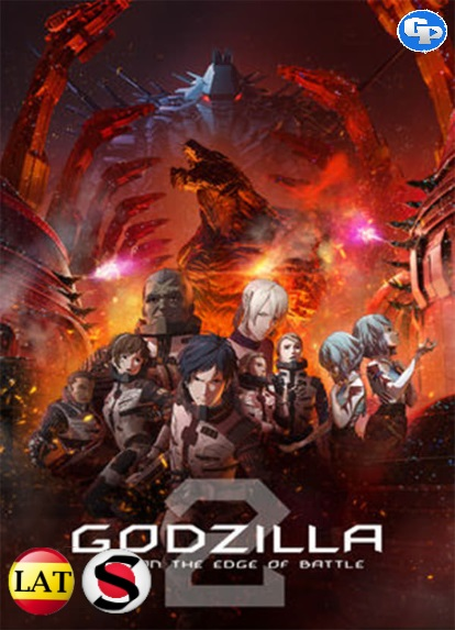 Godzilla: Ciudad Al Filo De La Batalla (2018) HD 1080P LATINO/JAPONES