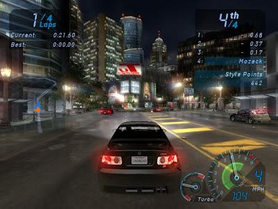 Need For Speed Underground 1 PC